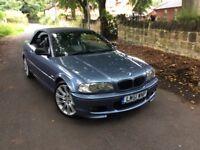 BMW 3 SERIES 3.0 330CI 2DR (blue) 2001