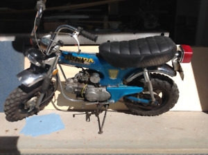 Honda CT70 1971 with all parts new and NOS great deal!!