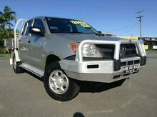2007 Toyota Hilux KUN26R MY07 SR Silver 5 Speed Manual Cab Chassis Bungalow Cairns City Preview
