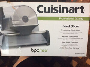 CUISINART FOOD SLICER LIKE NEW