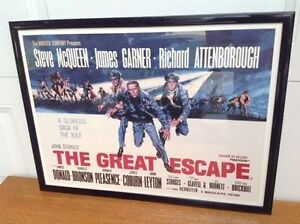 The Great Escape Framed Print $120.00