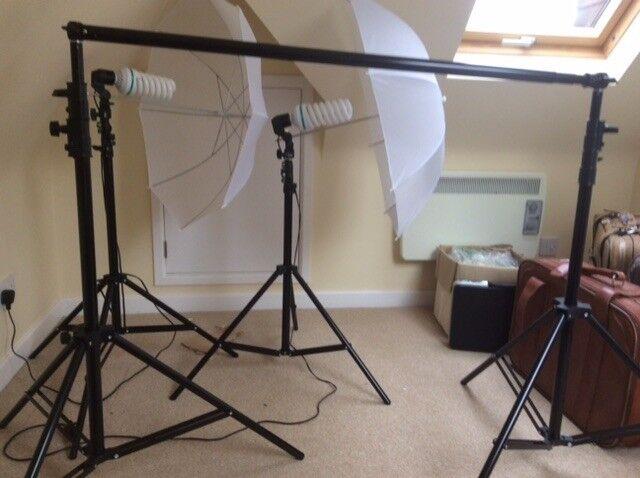 Movie making studio equipment