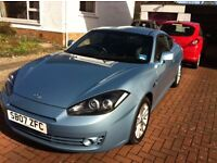 Hyundai Coupe 1.6. In good Condition and relatively low mileage.