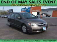 2010 Honda Civic DX-G! ONLY 68000 KM'S! EXCELLENT CONDITION! Windsor Region Ontario Preview