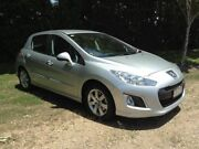 2013 Peugeot 308 T7 MY13 Style Grey 6 Speed Sports Automatic Hatchback Nambour Maroochydore Area Preview