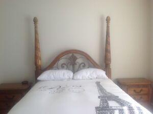 Queen Solid Wood Bedroom Suite