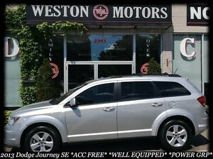 2013 Dodge Journey SE* ACC FREE* WELL EQUPPIED* POWER GRP*