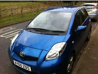 Toyota Yaris D4D 2010, FSH, MOT very economical with low mileage 35000