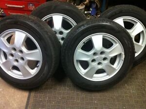 """15"""" CAVALIER / SUNFIRE  RIMS AND TIRES"""