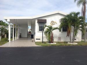 Maison mobile de luxe à vendre Park Lake, 3ch, Floride
