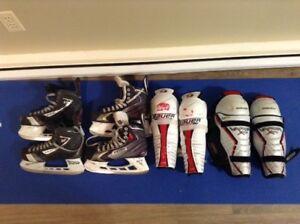 Boys Hockey Gear - Good Condition