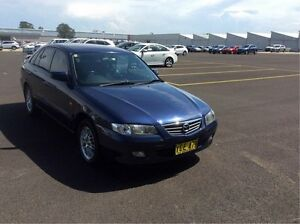 2002 Mazda 626 GF Classic Blue 4 Speed Automatic Hatchback Maryville Newcastle Area Preview