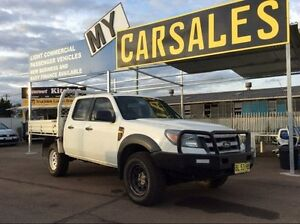 2011 Ford Ranger PK XL 3.0 DIESEL TURBO DUAL CAB White Manual Dual Cab Lansvale Liverpool Area Preview