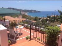 villa property to rent in La Herradura Andalucia spain. close to beach and great views.