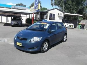 2007 Toyota Corolla ZRE152R Ascent Blue 4 Speed Automatic Hatchback North Richmond Hawkesbury Area Preview