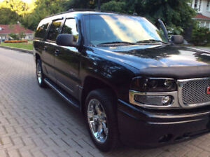 2002 GMC Denali ,2 sets tires rims ,lights,mirrors come with