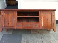 Reclaimed tv stand free local delivery