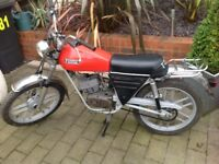 1977 Fantic GT50 sports moped