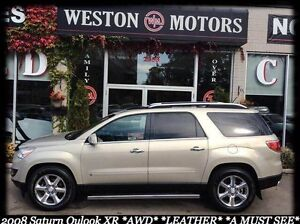 2008 Saturn Outlook XR*AWD*NAVI*LEATHER*IN-HOUSE FINANCING!*