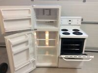 Electrolux frigidaire compact fridge and 24 inch range