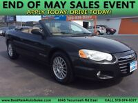 2004 CHRYSLER SEBRING CONVERTIBLE LXI ~ SUMMER IS HERE ! Windsor Region Ontario Preview