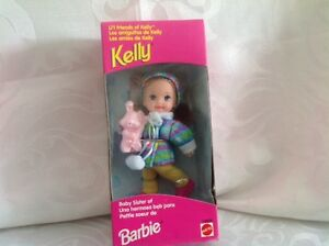 2 Vintage Barbie Little Sister Kelly's Friends Becky & Melody