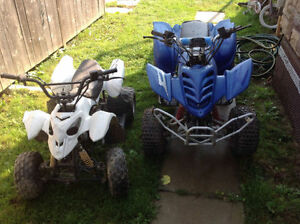 WANTED: CHINA Pit bikes and Quads, also do repairs
