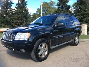 2003 Jeep Grand Cherokee, OVERLAND, AWD, LEATHER, ROOF, $5,500