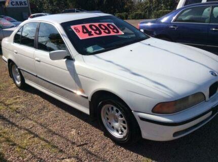 1996 BMW 528I  White 5 Speed Automatic Sedan South Maitland Maitland Area Preview