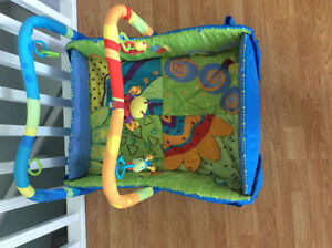 bright starts baby's play place