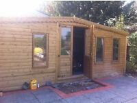 Sheds and summer houses any size and spec free installation