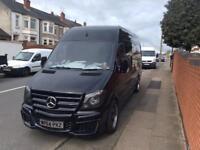 Mercedes-Benz Sprinter 2.1TD 313CDI LWB 2014 , Black ,