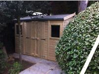 shed - brand new 6x3 £406 – tantalised wood, other styles & sizes available