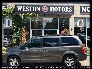 2010 Dodge Grand Caravan SE* STOW N GO* ALLOY WHEELS* FLEX FUEL*