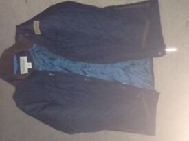 regatta navy blue checkered jacket 11-12