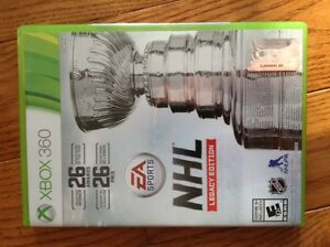 XBOX 360 games- NHL Legacy Edition (2016), NHL 12