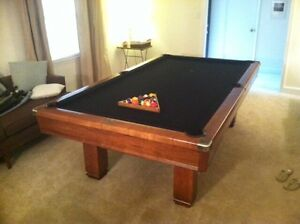 Brunswick Hawthorn 4x8 cherry wood Pool Table
