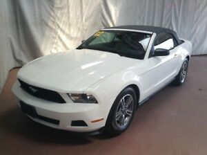 2012 Ford Mustang V6 Premium / Convertible Leather