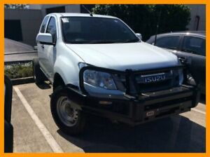 2015 Isuzu D-MAX MY15 SX Space Cab White 5 Speed Sports Automatic Cab Chassis Hillcrest Logan Area Preview