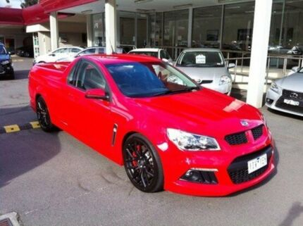 2014 Holden Special Vehicles Maloo GEN-F MY14 Red 6 Speed Sports Automatic Utility