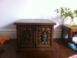 Lovely Wooden Cabinet/Small Table/Hutch