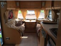 2006 Baily Senator Indiana Series 5, 4 Berth Fixed Bed, Full Sized Awning and Motor Mover