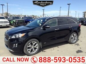 2016 Kia Sorento AWD SX 7 PASSENGER Accident Free,  Leather,  Ba