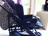 First class condition, pushchair, carry-cot, car seat 3-in-1 Chicco Travel System