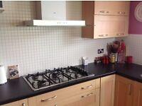 Kitchen Units and Integrated appliances - AEG Oven ,AEG Microwave, Fridge /Freezer,5 Ring Hob & Hood