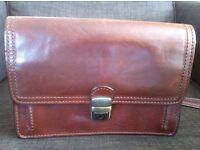 Gianni Conti leather men's bag