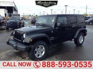 2014 Jeep Wrangler Unlimited 4WD UNLIMITED SPORT Bluetooth,