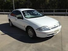 1998 Ford Falcon AU Forte White 4 Speed Automatic Sedan Morayfield Caboolture Area Preview