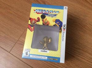 Neuf - Megaman Legacy Collection - Nintendo 3DS avec Amiibo doré