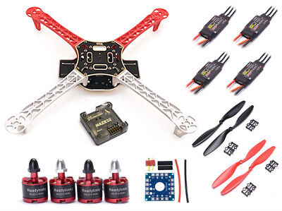 F450 Quadcopter Drone Kit with 2212 920kV Motors EMax 30A ESC Props Naze32 ++